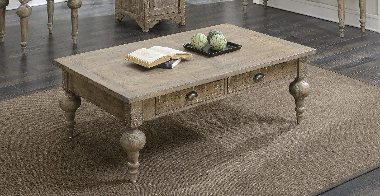 Interlude Cocktail Table Table Oak Coffee Table Large Coffee