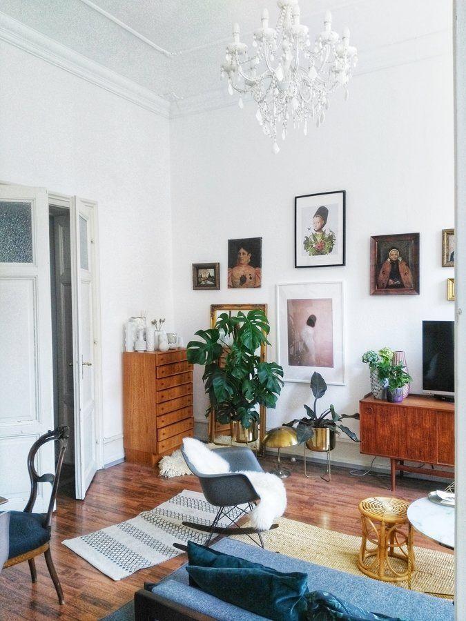 Sonniger Samstag 💚🍍☀ #Wohnzimmer Pinterest Living spaces