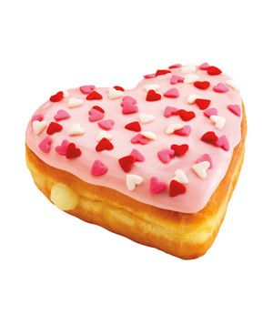 Had Krispy Kreme's Valentine's donuts this weekend. Will have to try Dunkin' Donuts' now.