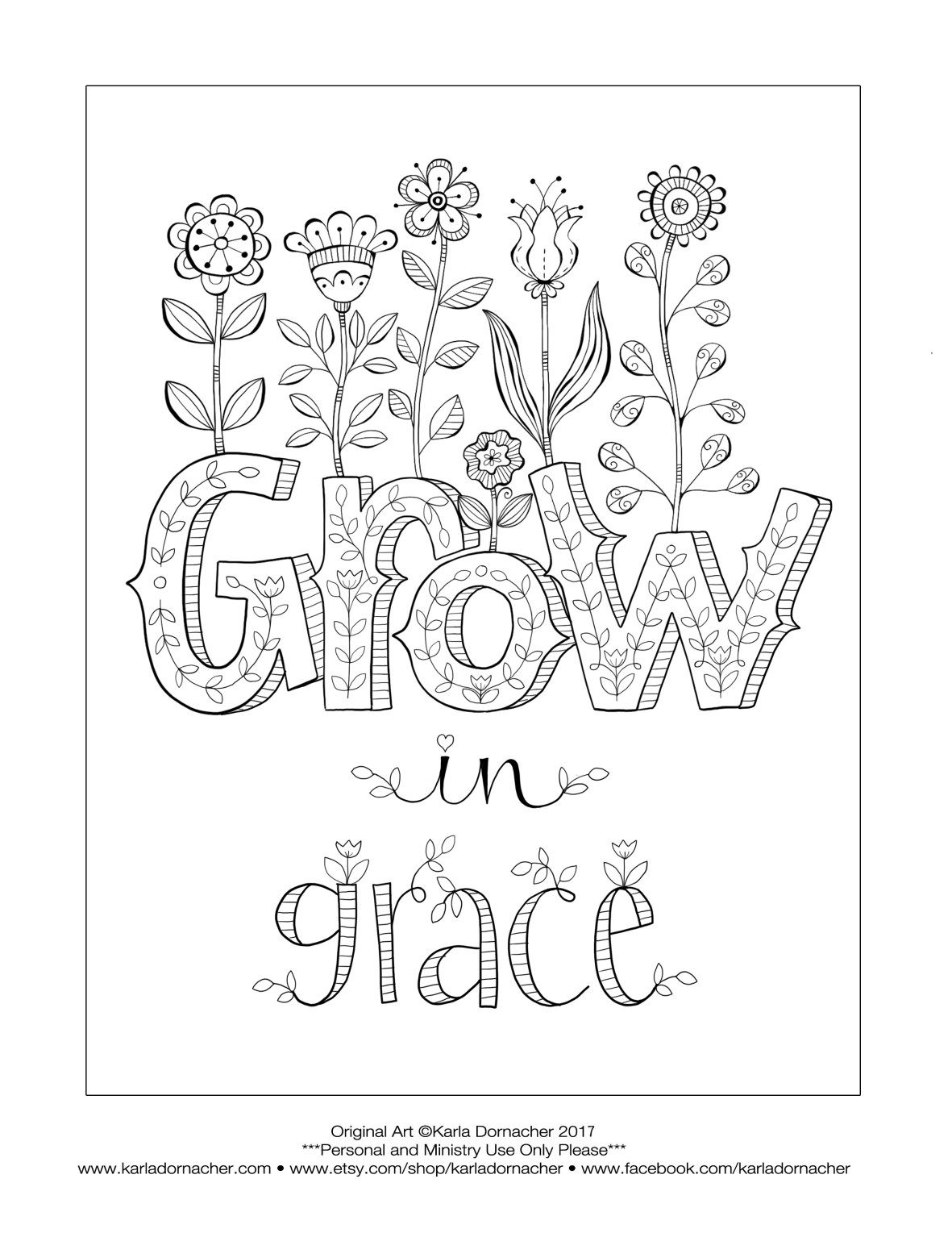 Growing In Grace Grow In Grace Bible Coloring Pages Coloring Pages