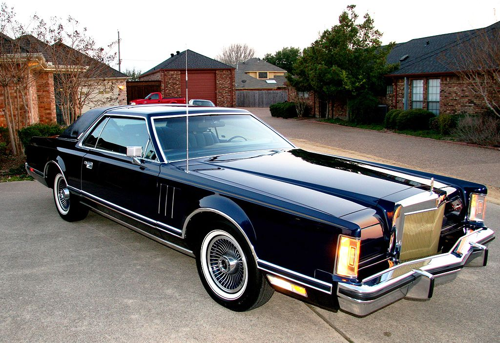 1979 Lincoln Mark V collectors series  Cars Lincoln  Pinterest
