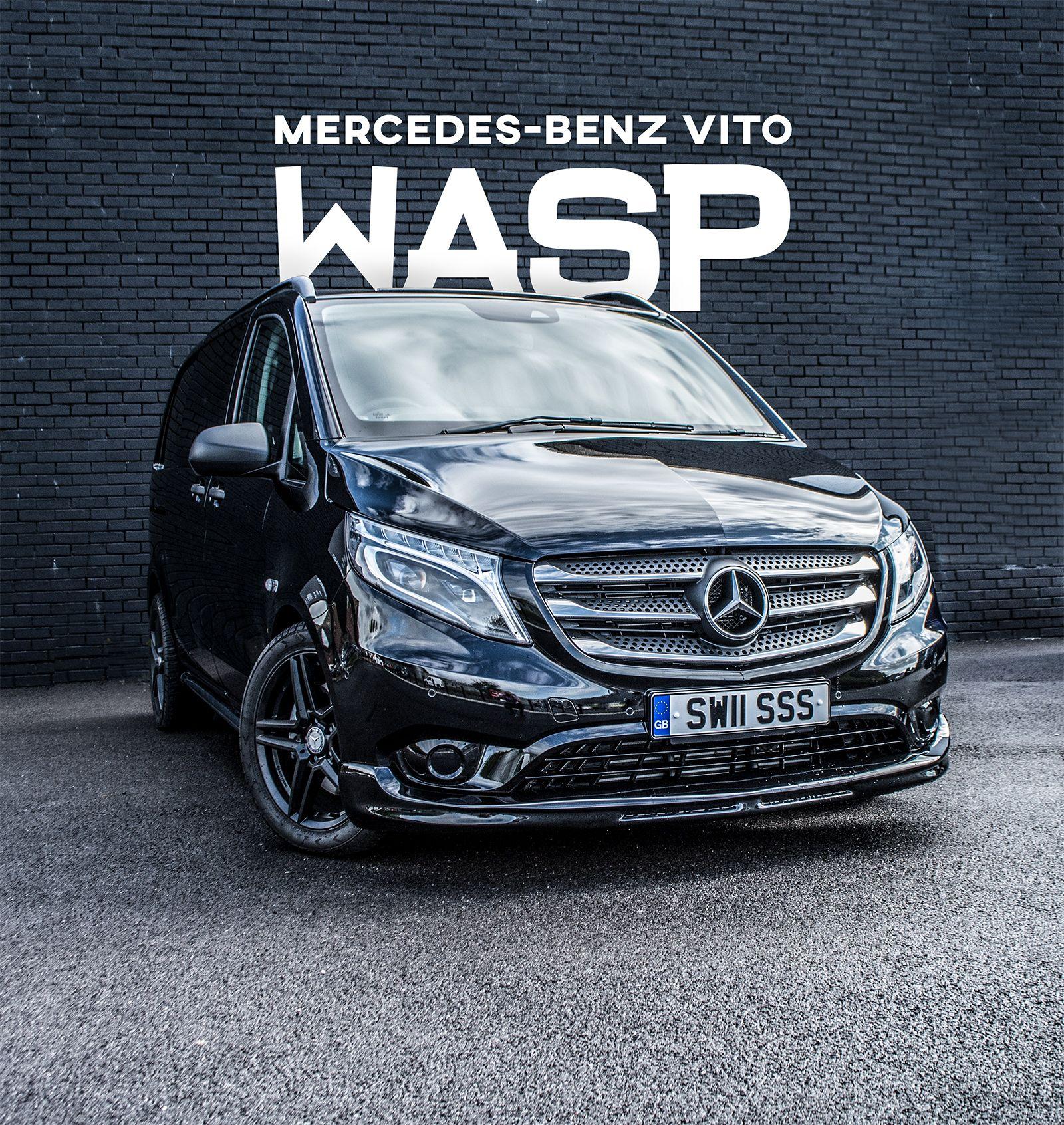 Mercedes Vito Sport WASP Crew Van | Mercedes Van Leasing ...
