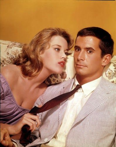 Image result for jane fonda and anthony perkins in 'tall story'