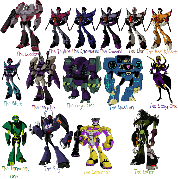 Photo Transformers Decepticon Tag Your Friends By Me icon