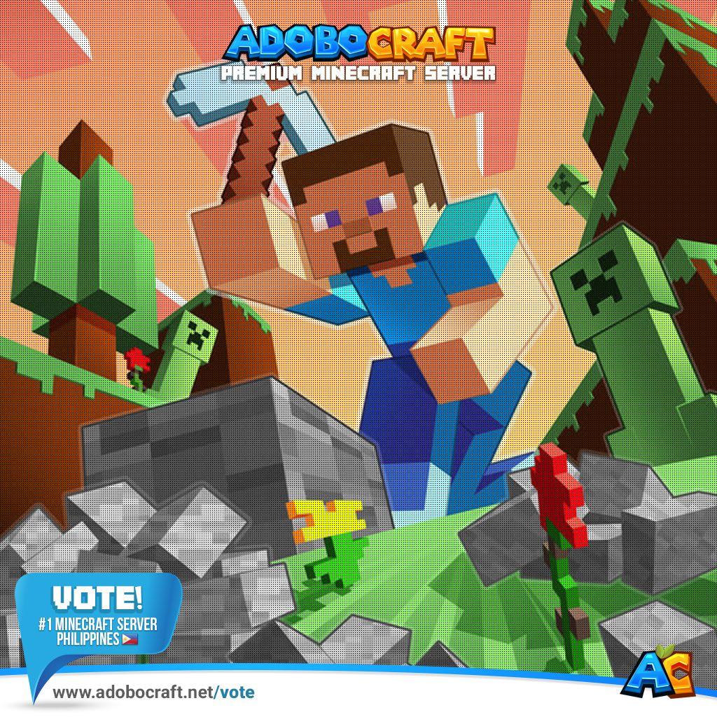 Minecraft server mcslime vote
