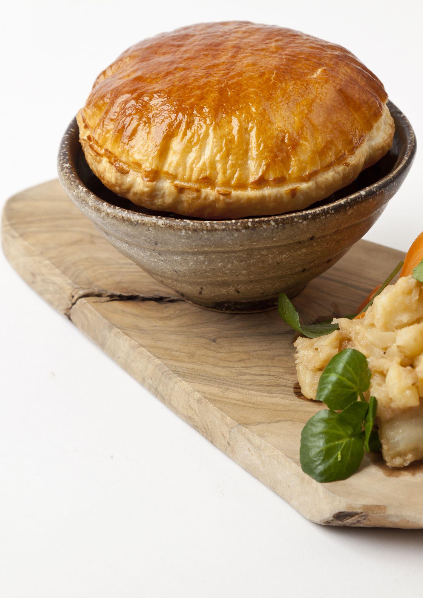 Steak and ale pie with caramelised celeriac | Recipe ...