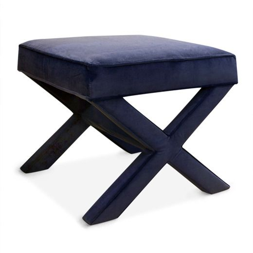X Bench In Venice Navy X Bench Bench Contemporary Bench