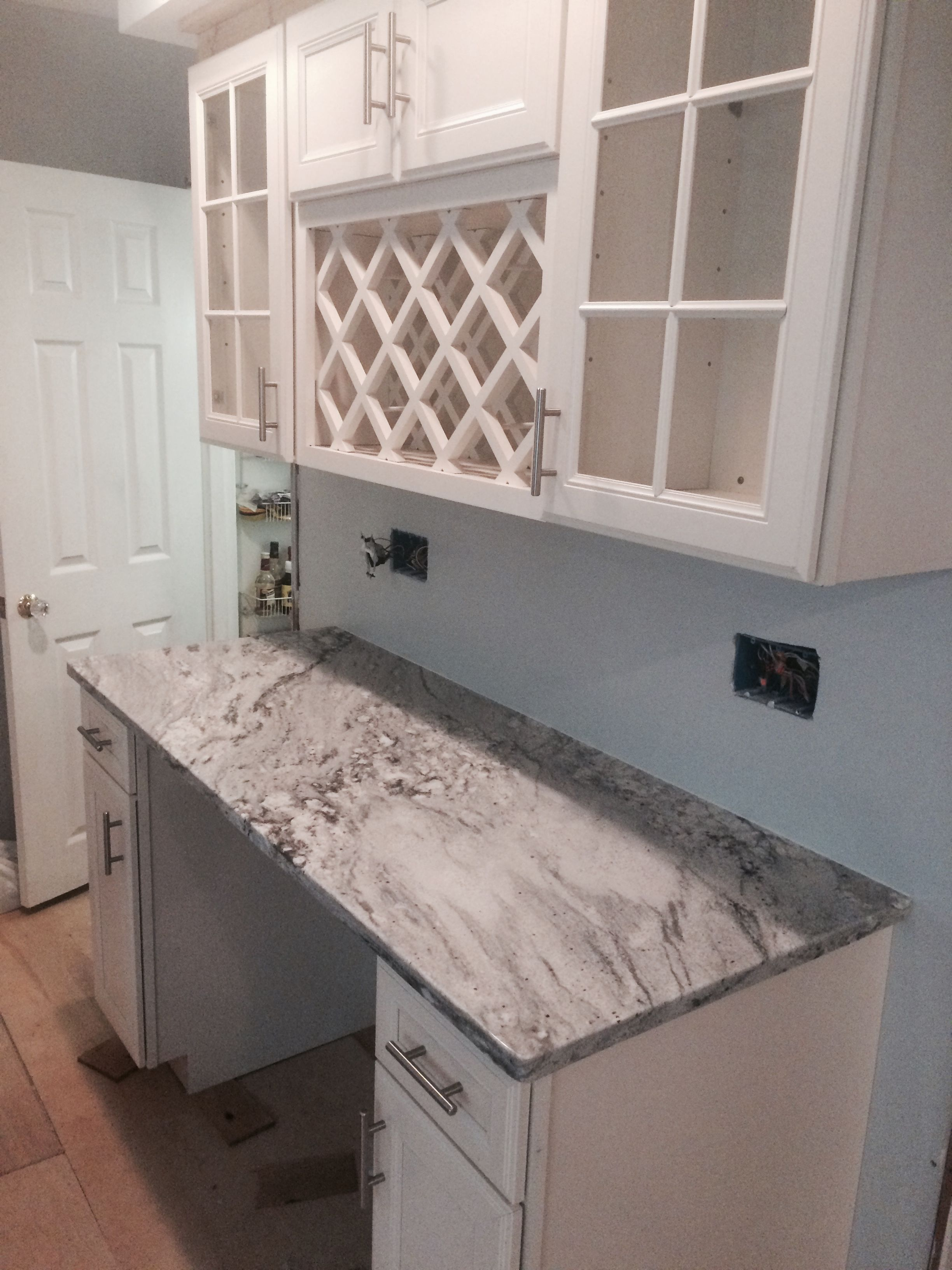 AuBergewohnlich Granite: Thunder White Location: Wilmington, DE Kitchen Backsplash, Kitchen  Counters, Kitchen