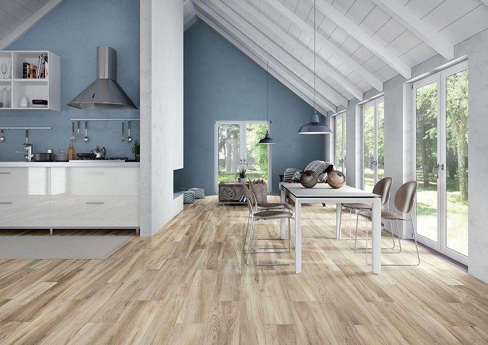 Natura effetto legno interni esterni cerdisa tiles - Arte sole cucine ...