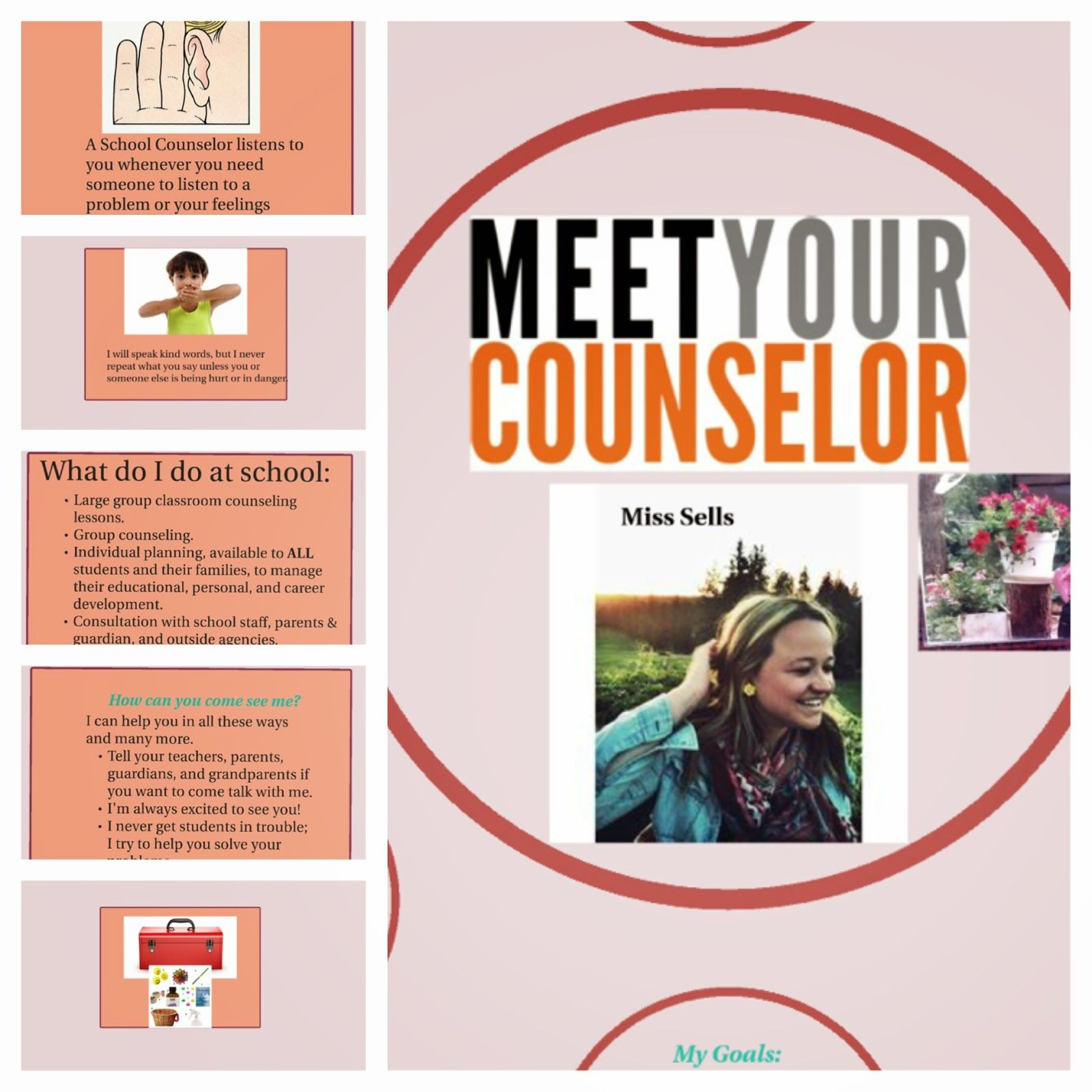 The Creative School Counselors Meet Your School Counselor