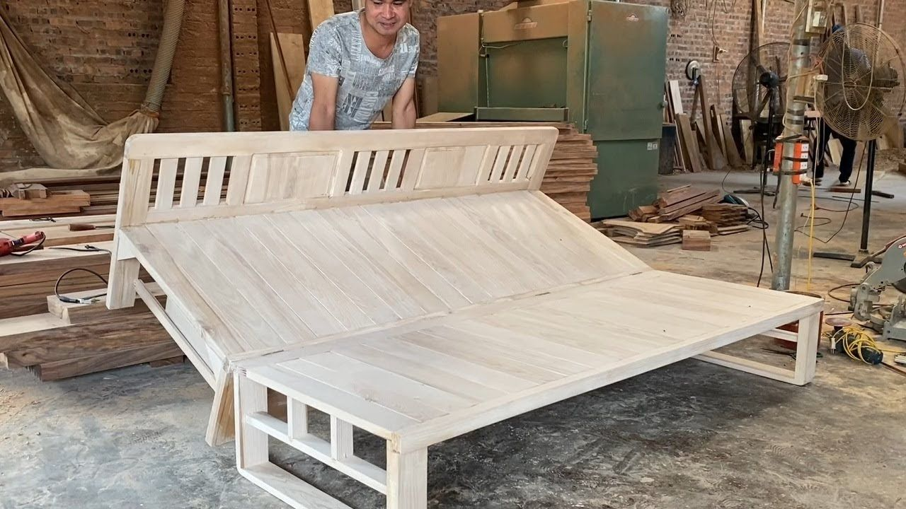 How To Build A Smart Chair Combination With Bed - Design Ideas Woodworking Project Smart Furniture - YouTube #woodworkingprojectschair