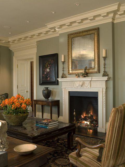 Пин от пользователя Alla на доске Traditional Fireplaces