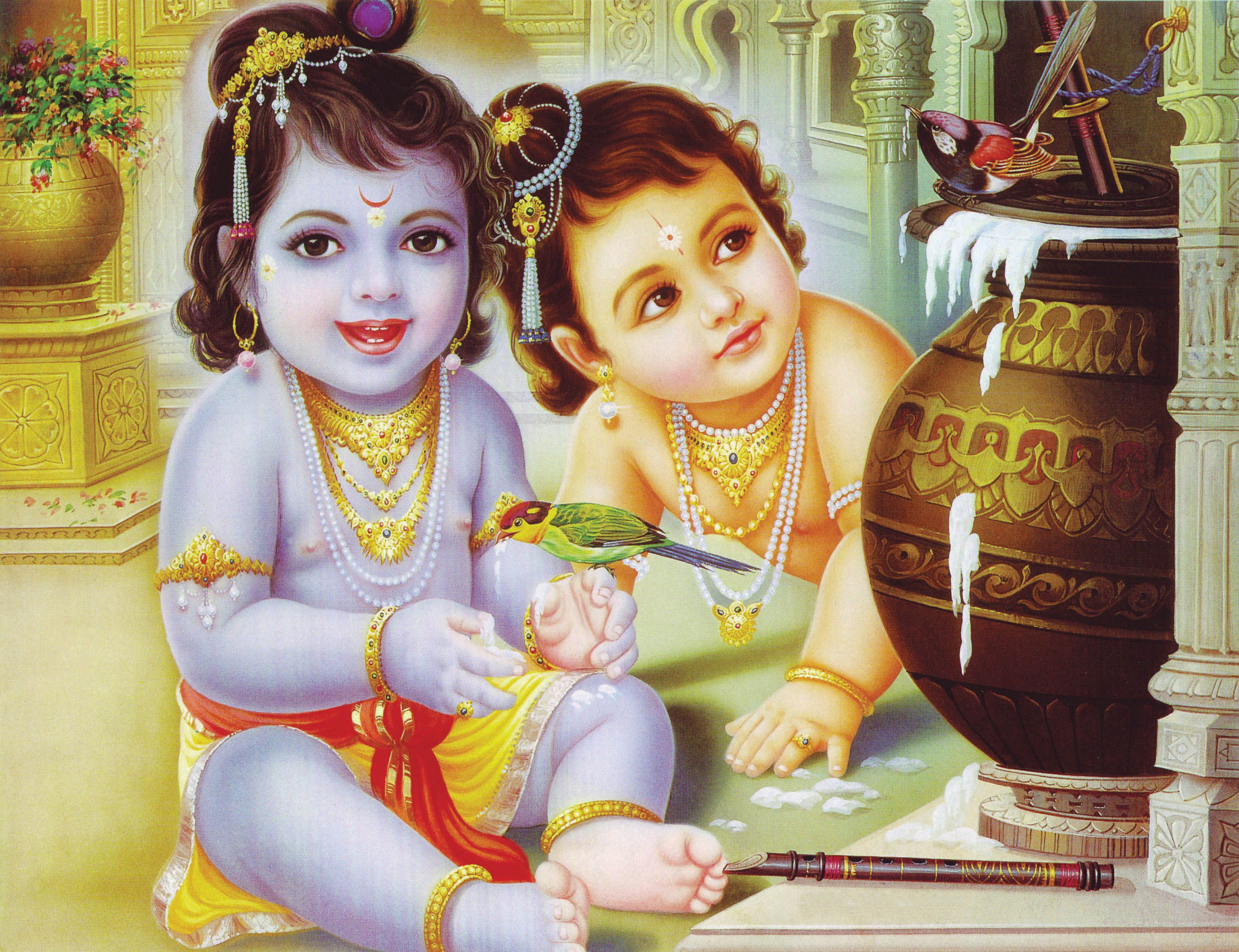 bal krishna hd wallpapers