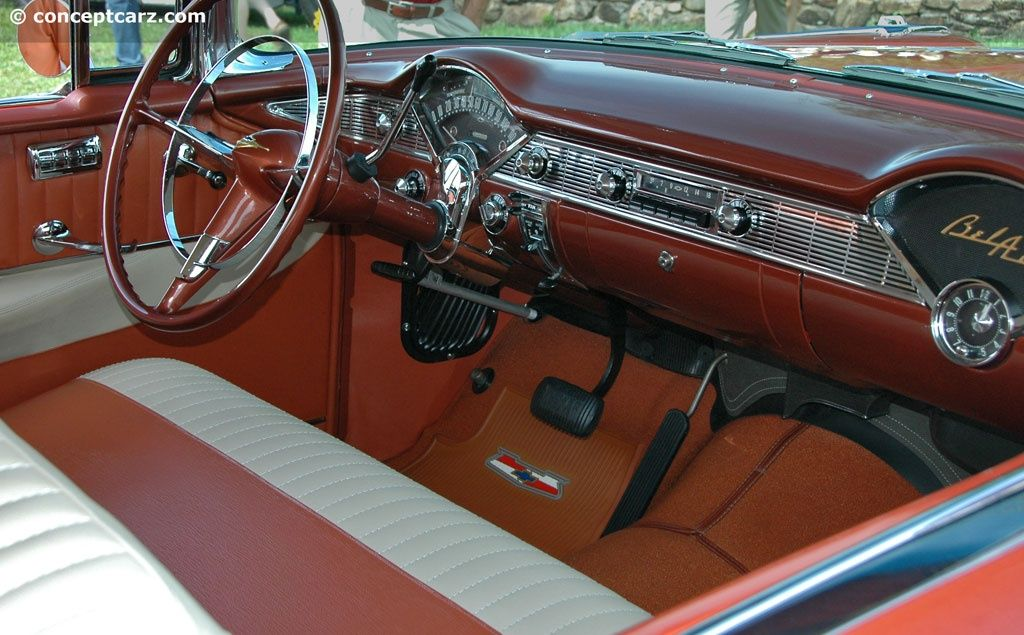 1956 Bel Air Interior Custom Car Interior Custom Cars Bel Air Car