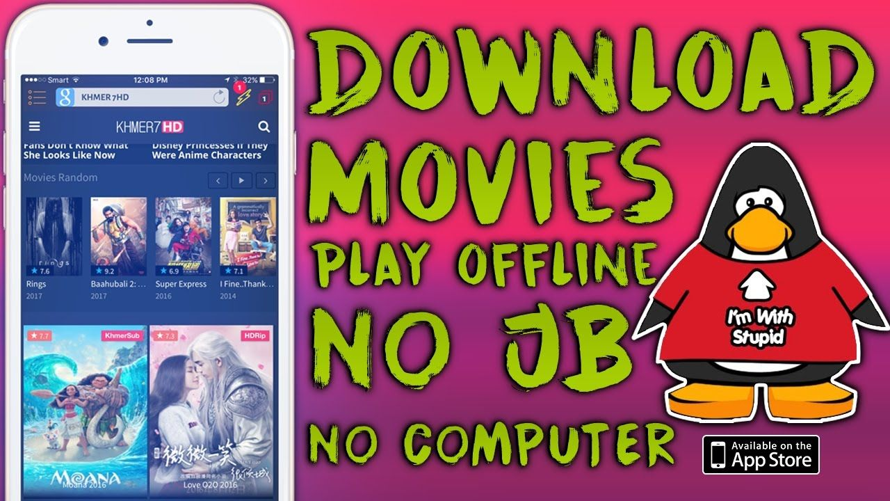 How to Download Movies Play Offline on iOS 9/10/10.3.1 No