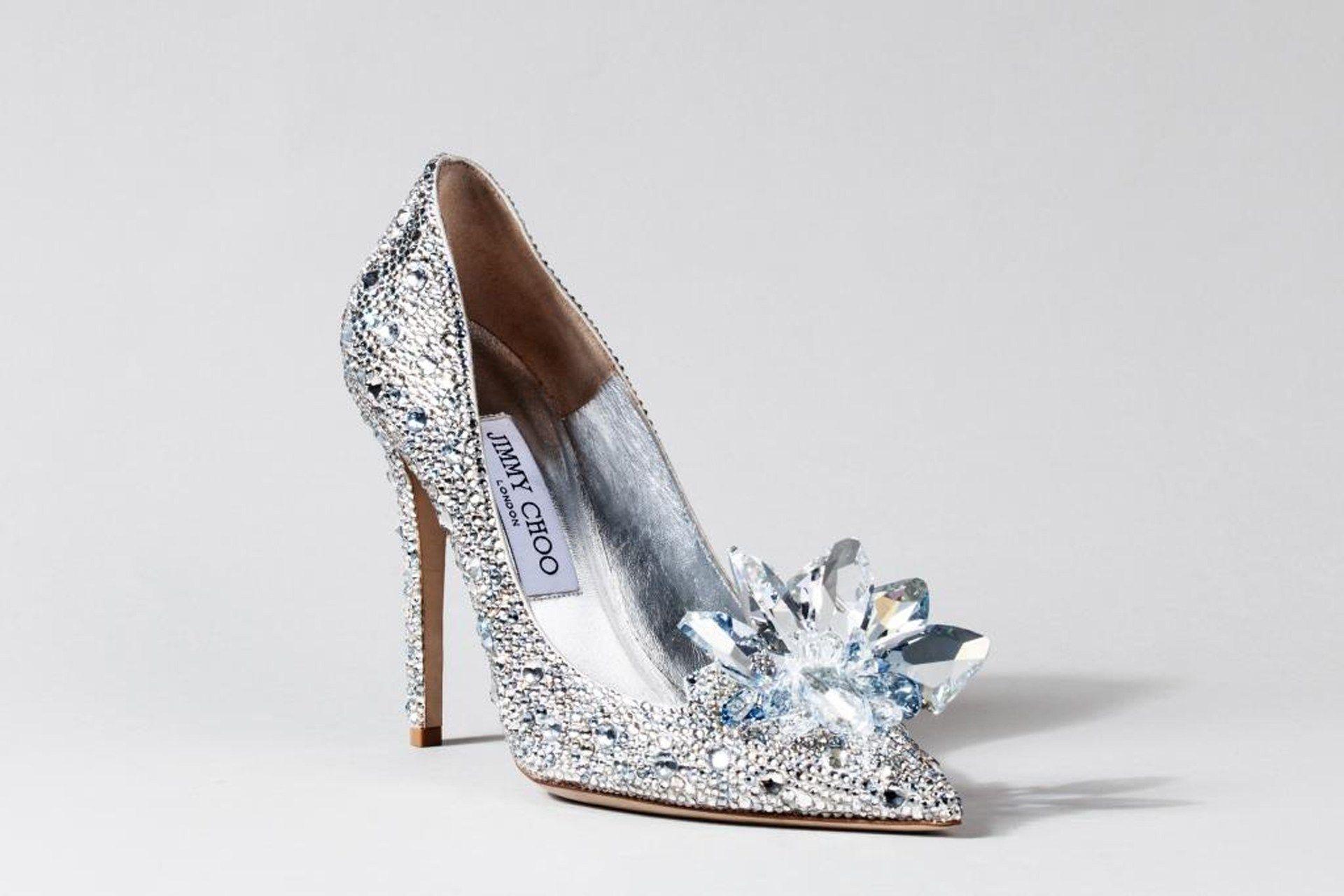Crystal #Cinderella-inspired Jimmy Choo