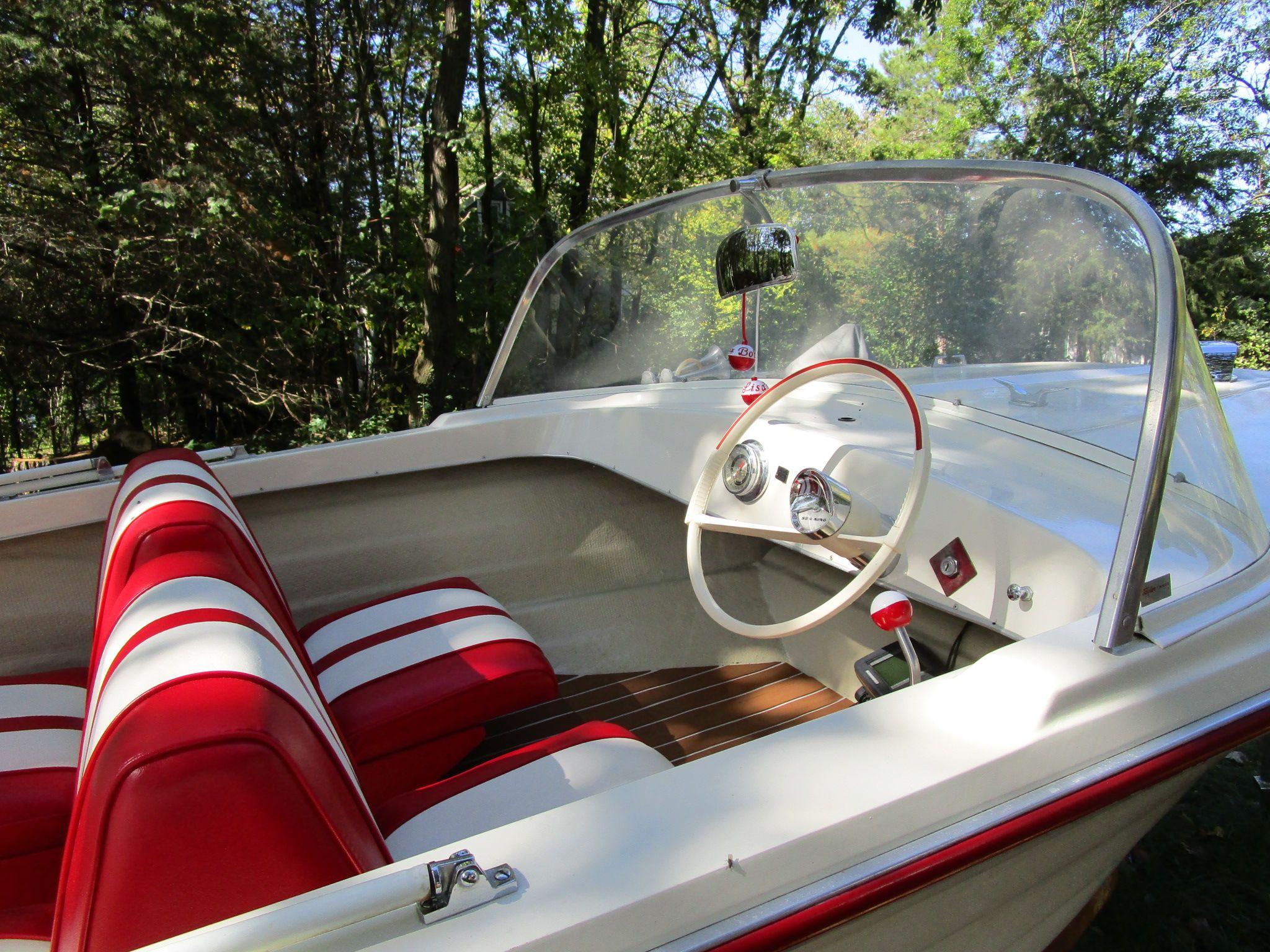 My Bobbette 1964 Fiberglass Sea King Runabout Boat Runabout Boat Vintage Boats Classic Boats