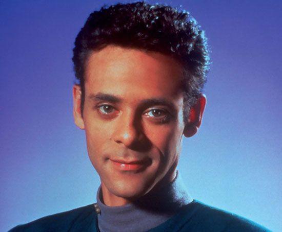 Alexander Siddig as Dr. Julian Bashir on Star Trek: Deep Space Nine