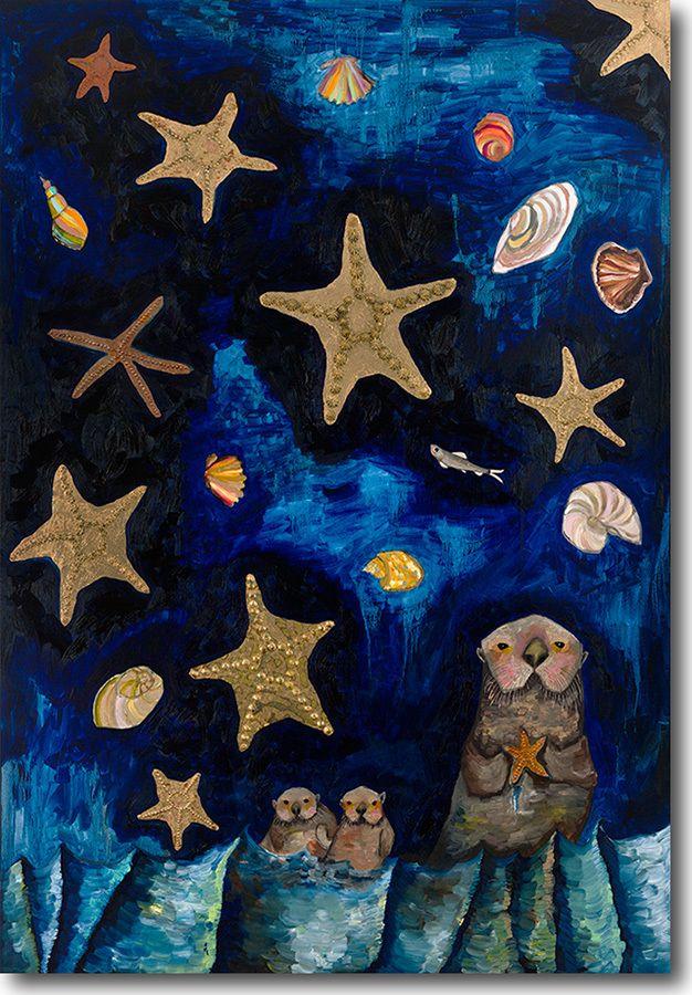 Starfish Bedtime Stories Eli Halpin Gicl 233 E Print Art