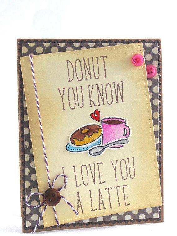 Handmade Valentine Card Cute Card Couples Card Anniversary
