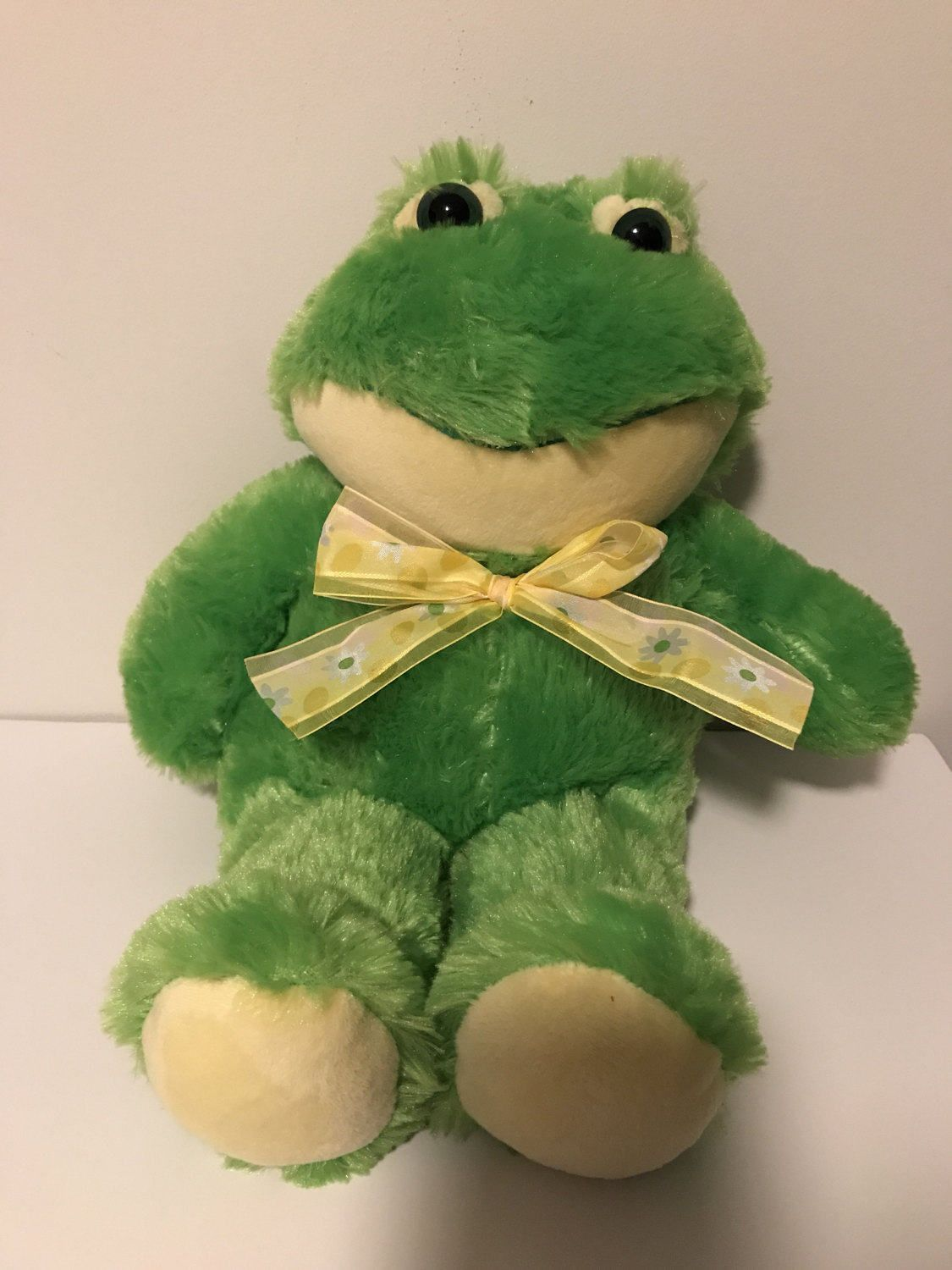 Weighted Stuffed Animal Frog Large 6 Lbs Sensory Toy Washable By