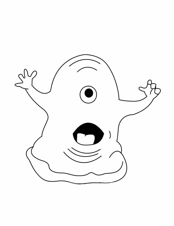 Monster Slime Coloring Page Color Luna In 2020 Monster Coloring Pages Cute Coloring Pages Cartoon Coloring Pages