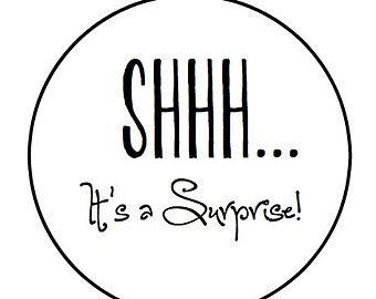 Baby Shhh Surprise Party Clipart Cliparthut Free Clipart Party Clipart Clip Art Shhh