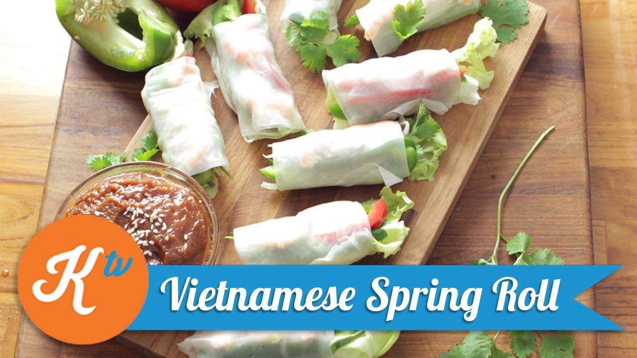 Resep Vietnamese Spring Roll Linda Kurniadi Lumpia Roti Gulung Masakan