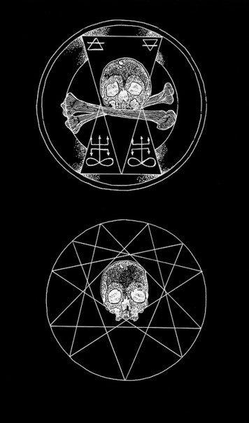 Satanic Satan Darkart Occultart Occult Illustration Cursed