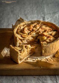 Tarta De Manzana Rústica Recetas Con Fotos El Invitado De Invierno Receta Tarta De Manzana Tarta De Manzana Light Kuchen De Manzana