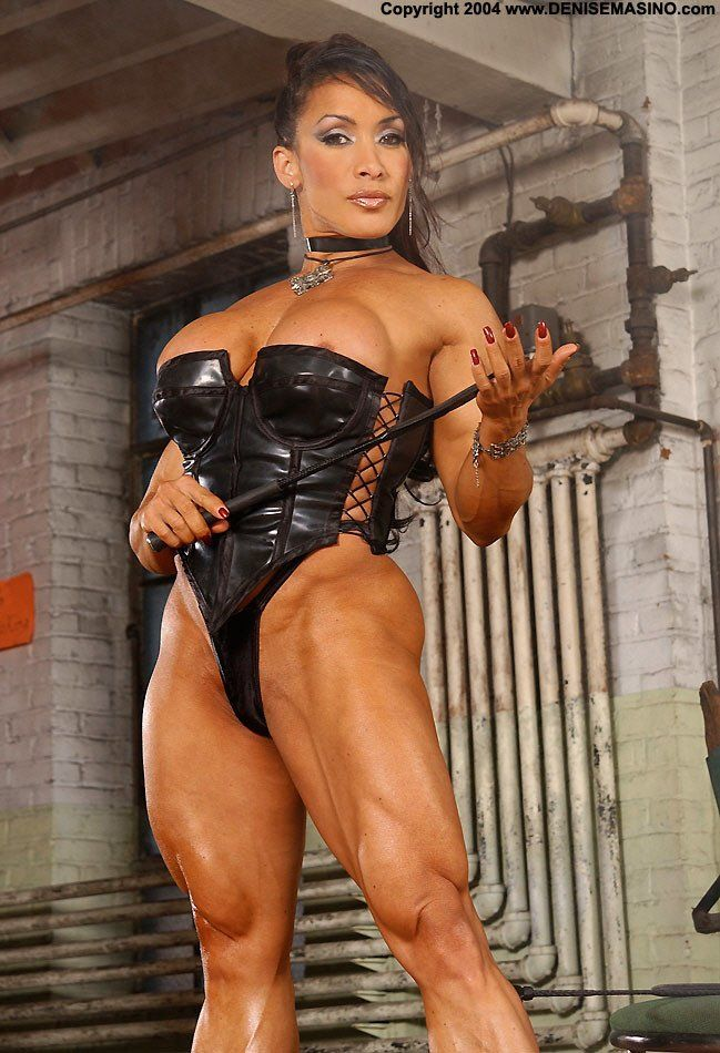Can suggest female bodybuilder denise masino sex sorry, that