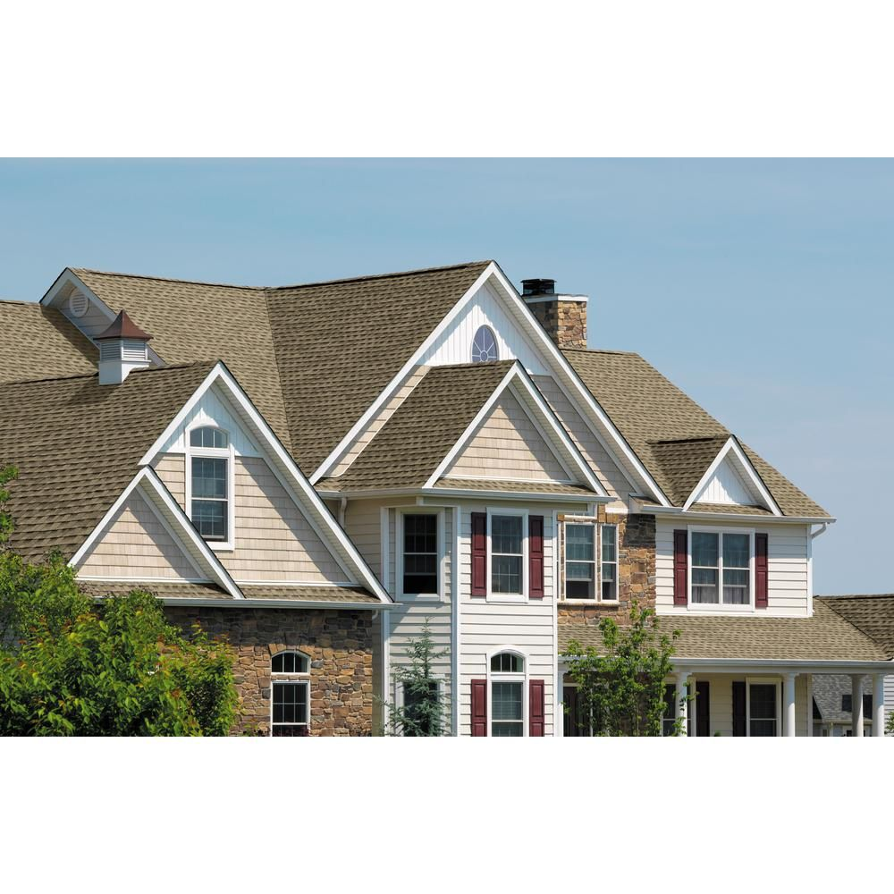 Best Gaf Timberline Hd Weathered Wood Lifetime Architectural Shingles 33 3 Sq Ft Per Bundle 400 x 300