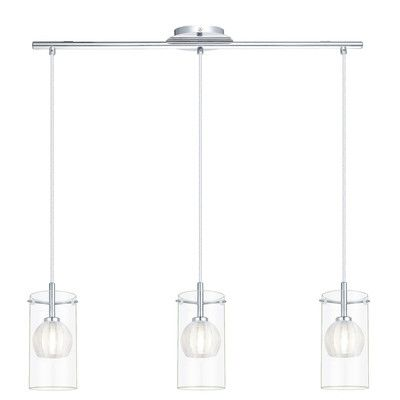 EGLO Ricabo 3 Light Kitchen Island Pendant