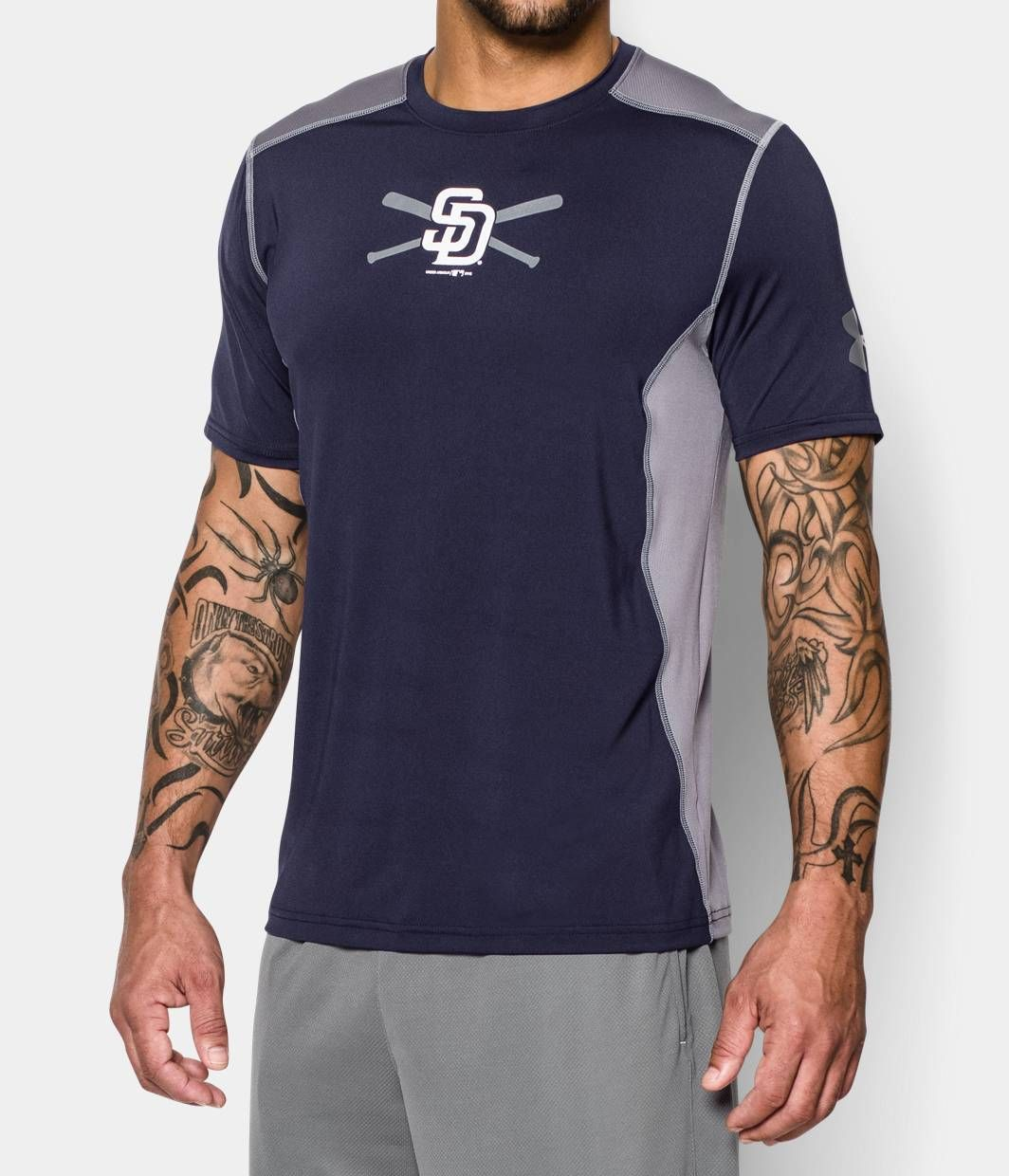 38e0aa59c5 Men's San Diego Padres UA Raid T-Shirt   Under Armour US   For the ...