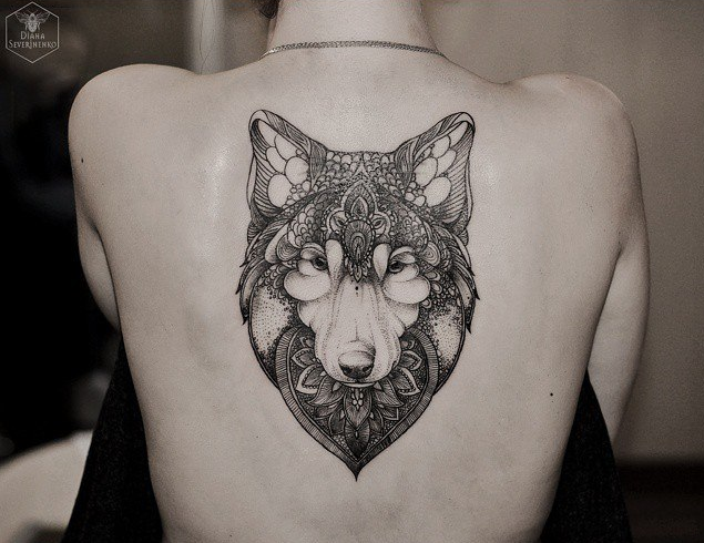 whoa wolf so feminine but not much