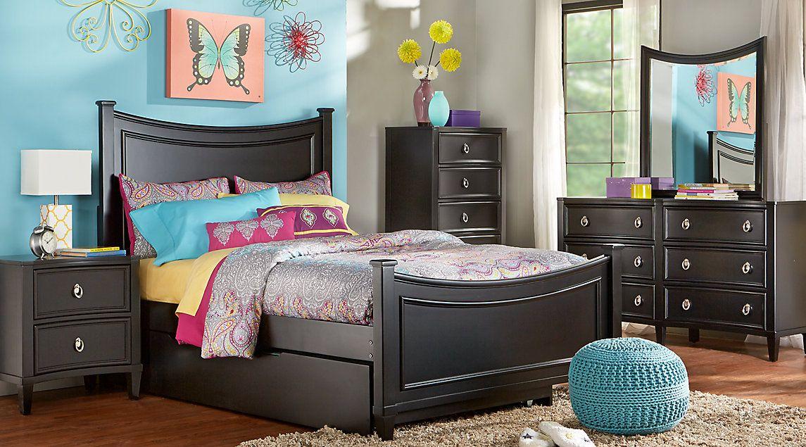 Affordable Panel Twin Bedroom Sets - Girls Room Furniture | Girls ...