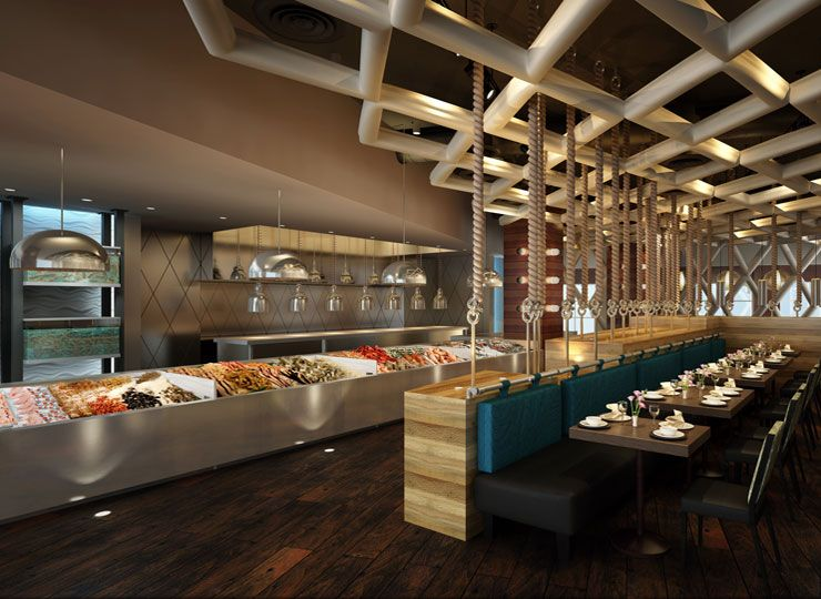 Seafood restaurant design - photo#1