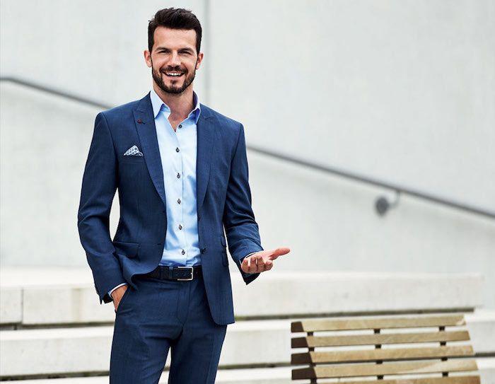 Très ▷ 1001 + modèles réussis d'une tenue homme d'affaires | Tenue  LA76