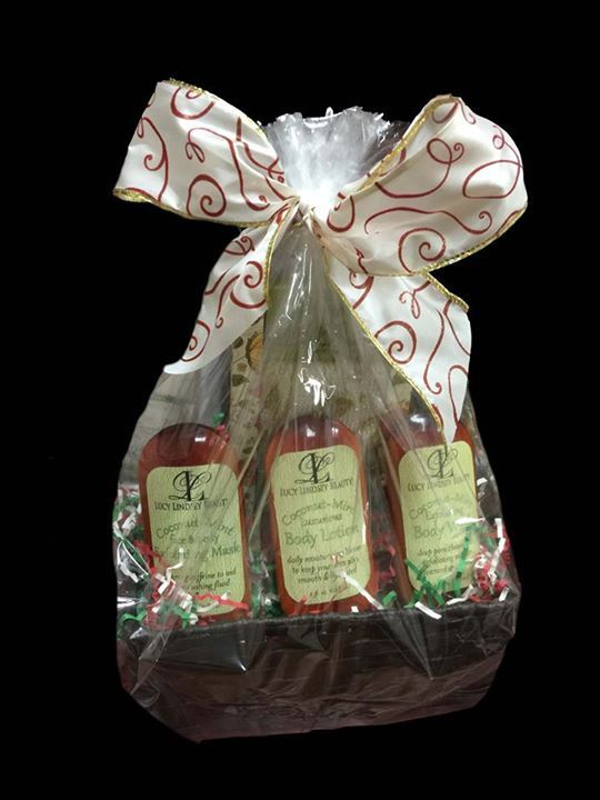 Looking for the perfect Christmas gift for someone? At Lucy Lindsey Beauty, we currently offering a beautiful Personal Body Kit Basket ($84.00 Value) for only $65! This offer is valid while supplies last, so don't delay... Order today!LIKE and SHARE this post with someone you think would enjoy this gift, for your chance to WIN this basket!!!
