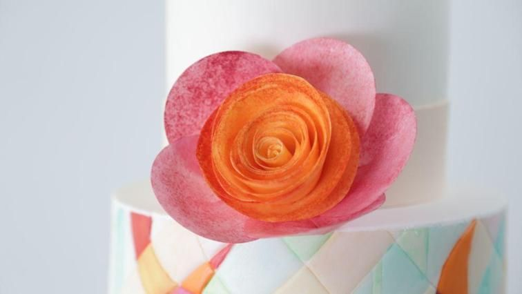 Simple and Stunning Wafer Paper Flowers | Craftsy