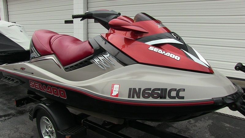 2005 Sea-Doo RXT supercharged 215-HP 4-stroke jet ski   SOLD