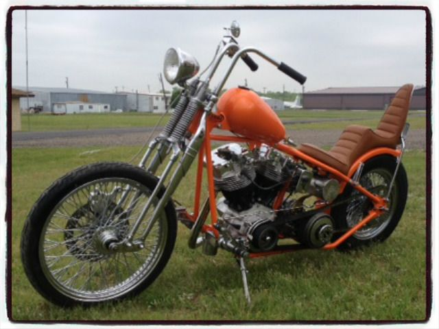 Shadetree Custom HD Shovelhead.