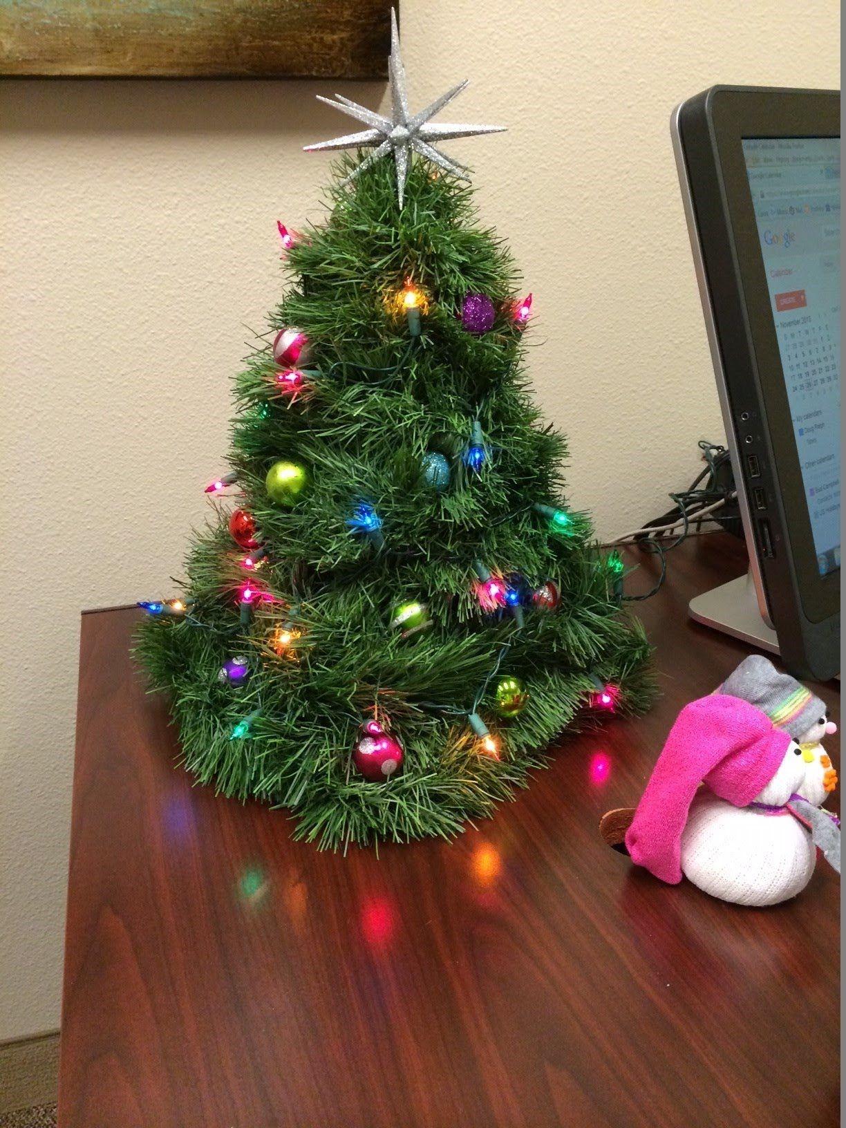 How To Make A Mini Christmas Tree Banderas Navidad Ejercicios Regalos De