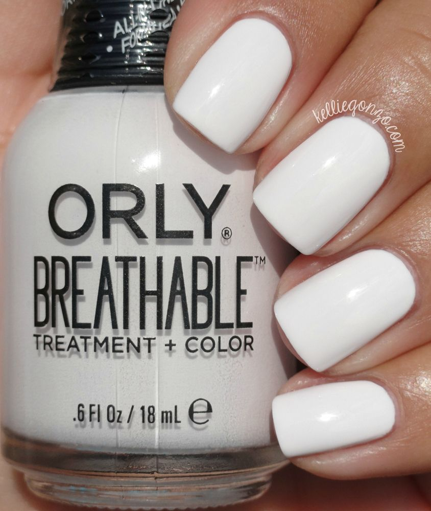 Orly Breathable Barely There Kelliegonzoblog Diy Acrylic Nails Gel Nails Nails