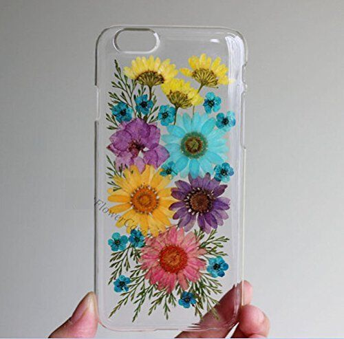 factory price 23c33 b4ed8 Rebbygena Pressed Flower Phone Cover,dried Real Flower Phone Case ...