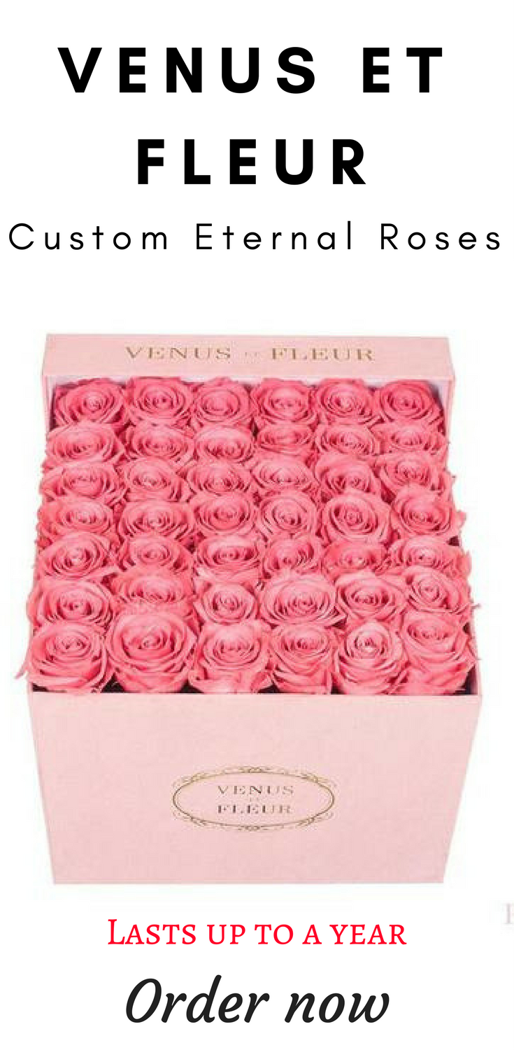 Venus Et Fleur Make A Statement With Eternity Roses That Last Up To