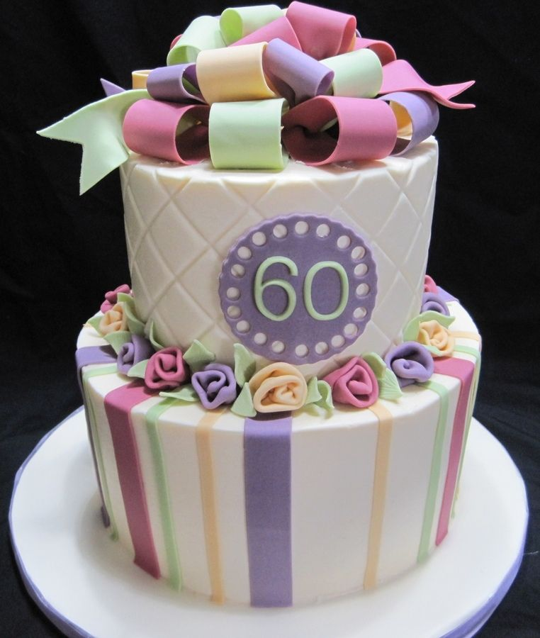Colorful Birthday 60th Birthday Cakes 70th Birthday Cake Cake