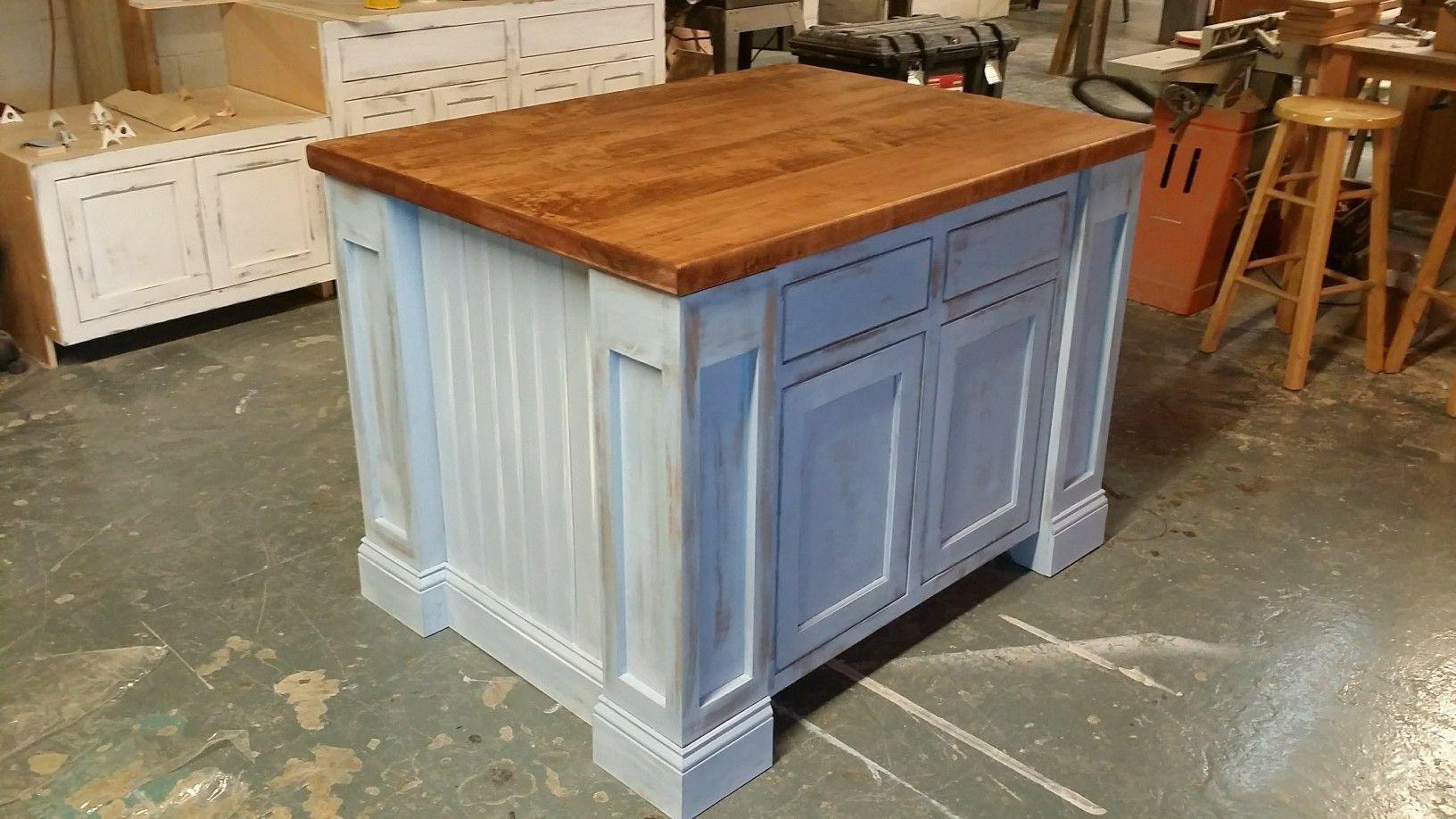 painted kitchen island custom built by northeast furniture studio rh pinterest com