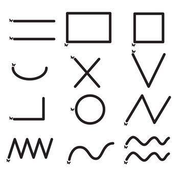 Amazon.com : Montessori Tracing Card Set for Sand Writing