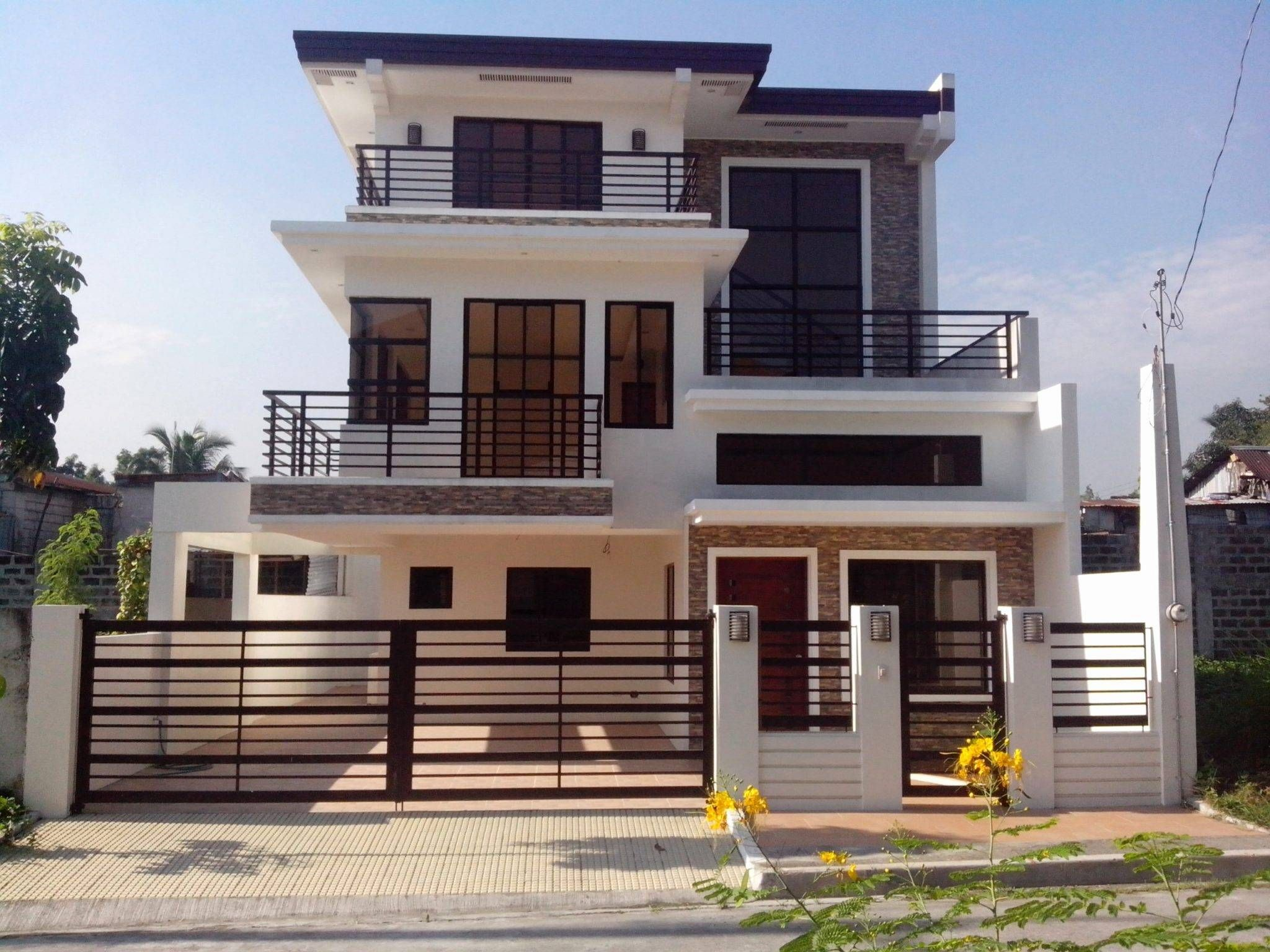Modern House Plans 3 Story Philippines House Design Modern House Philippines Small House Design Philippines